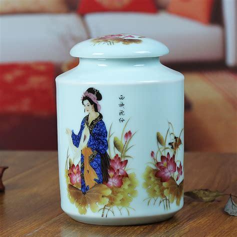 Handmade Jars - asian handmade ceramic tea jar