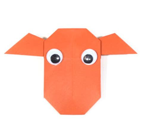 How To Make An Origami Cow - how to make an easy origami cow page 1