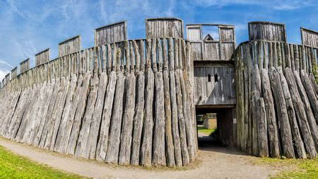 thousand year old viking fortress reveals a