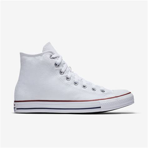 amazoncom converse chuck taylor all star high top converse chuck taylor white leather high tops