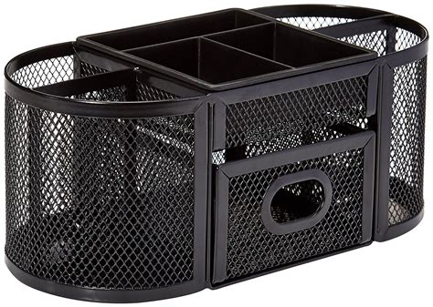 Amazon Com Amazonbasics Mesh Desk Organizer Office