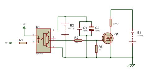 simple transistor relay driver tahmid s using the tlp250 isolated mosfet driver explanation and exle circuits