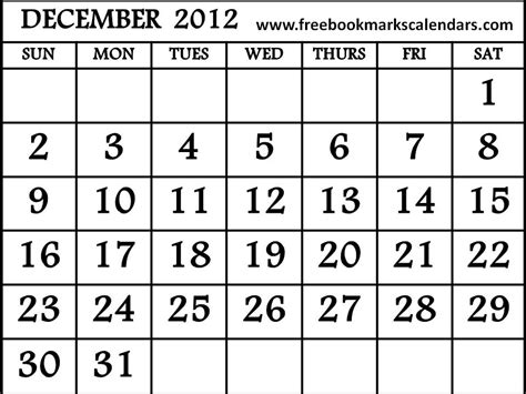 free printable calendar november december 2012 calendar 2012