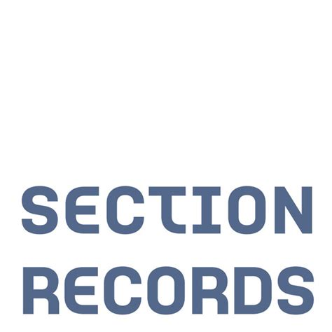 section records section records label profile theclubbing com