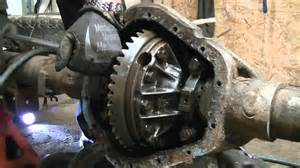 dissection of a chevy 3 4 ton rear end