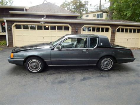 Gas Ls For Sale by Buy Used 1986 Mercury Ls Sedan 2 Door 5 0l W