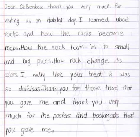 thank you letter to after student teaching thank you letter to from student thank you letter
