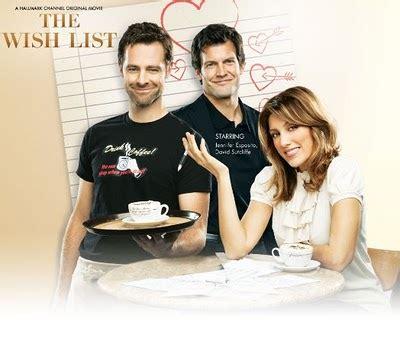 hallmark channel list hallmark its a wonderful the wish list