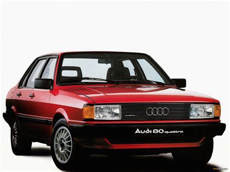 Audi 80 Quattro B2 Audi 80 Quattro B2 1982 1984 Photos 1600x1200