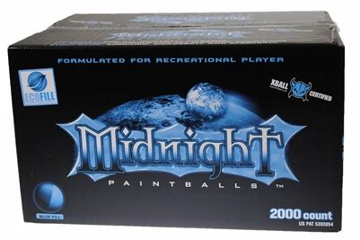 certified xball midnight paintballs | 2000 count blue