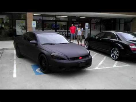 713 motoring murdered out monte carlo youtube