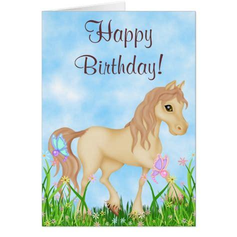 imagenes de feliz cumpleaños vaqueras tarjeta bonita del feliz cumplea 241 os del caballo y zazzle es