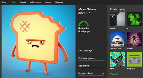 xbox one profile coming to microsoft s new xbox one profile pages are now live