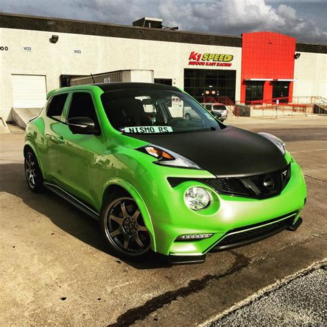 green nissan juke my 2015 juke nismo rs in pearl light green