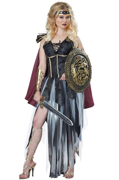 spartan warrior costume women glamorous roman gladiator spartan warrior women adult