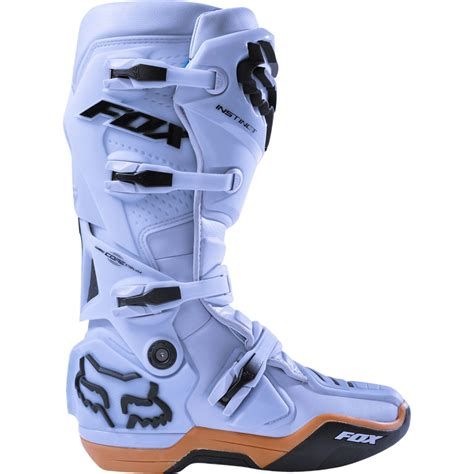 fox instinct motocross boots 2018 fox racing instinct boots light grey sixstar racing