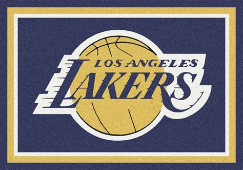 buy los angeles lakers logo rugs rug rats