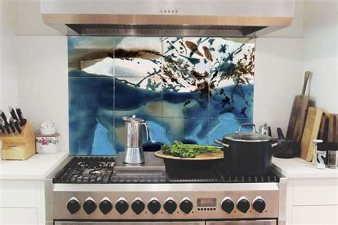 Tiles Backsplash Kitchen art tiles wall art tiles tile art