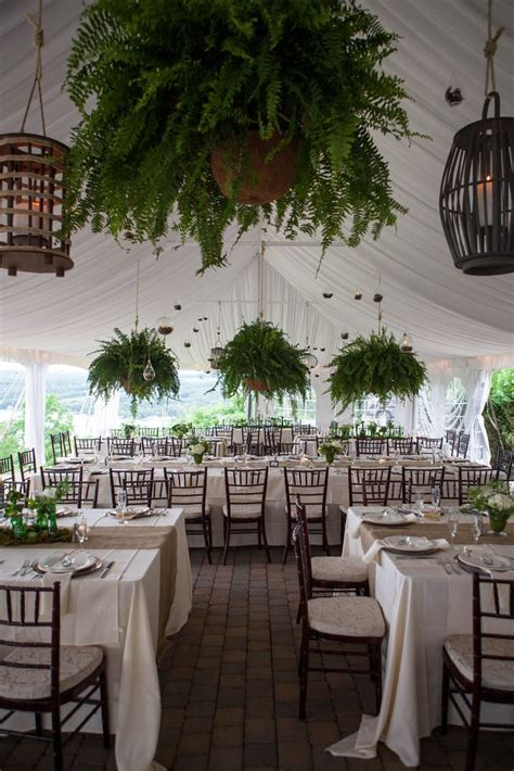 fern decor boston ferns wedding with lanterns ohh flowers i love