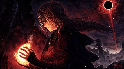 firekeeper dark souls animated wallpaper – animated