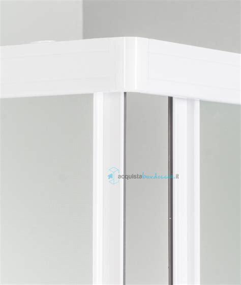 piatto doccia angolare 70x70 box doccia angolare porta scorrevole 70x70 cm opaco bianco
