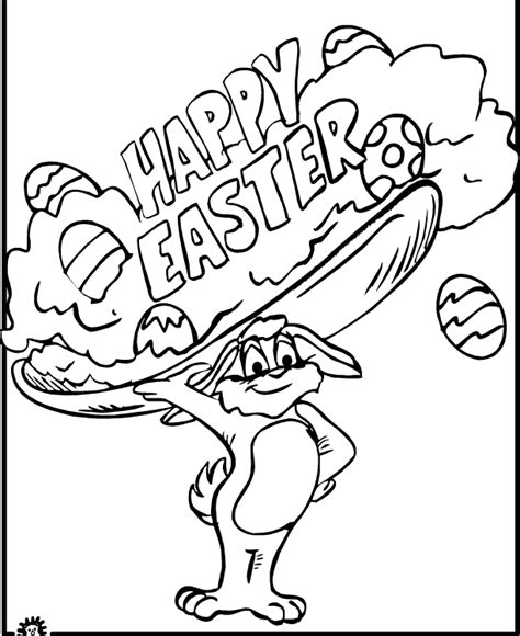 happy easter coloring pages holiday coloring pages