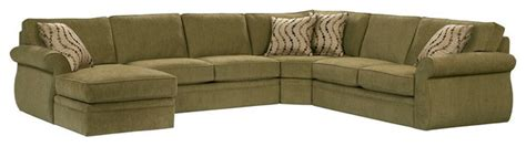 broyhill upholstered laf chaise sectional sofa in