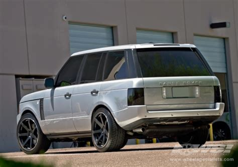 silver range rover black rims black wheels for range rover giovanna luxury wheels