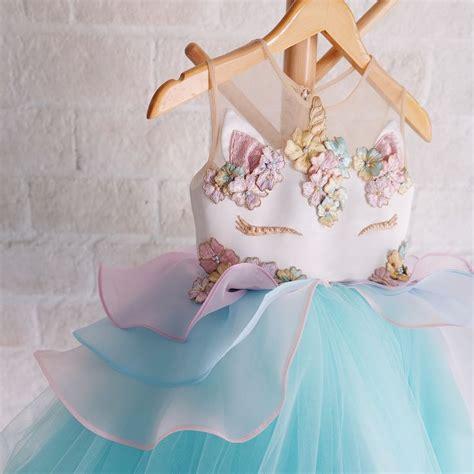 Dress Anak Tutu Kuning Marun unicorn dress honeybeekids honeybee kids instakids welovesdetails instagramkids