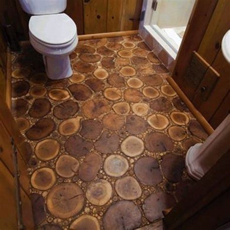 Cord Wood Floor by How To Make Your Own Cordwood Floor Diy Projects For