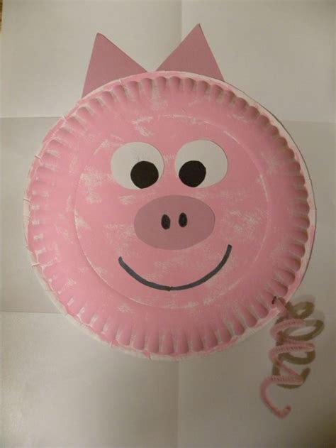 Pig Paper Plate Craft - best 20 pig crafts ideas on plastic piggy