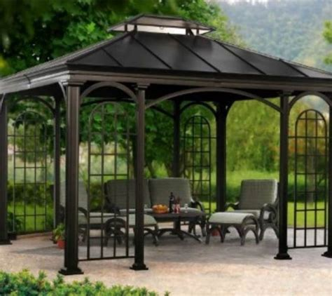 34 Best Images About Pergolas On Pinterest Gardens Metal Pergola Lowes