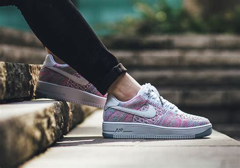 Nike Air One Af 1 Rainbow nike wmns air 1 low flyknit multicolor 820256 102 sneakernews