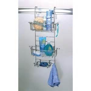 plastic the door shower caddy zenith products e7803ss the shower door caddy atg