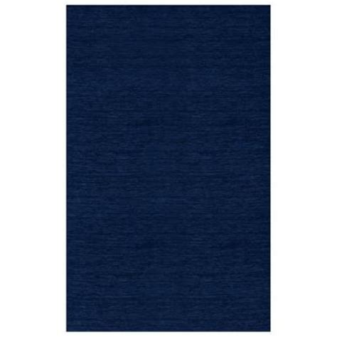 Solid Navy Area Rug Ruggable Solid Navy Blue 5 Ft X 7 Ft 2 Washable Area Rug System 110453 The Home Depot
