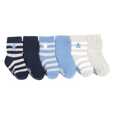 baby socks 2 in 1 rugby baby socks 6 pack robeez