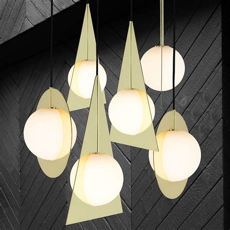modern gold pendant light 7 modern gold pendants to light up your design