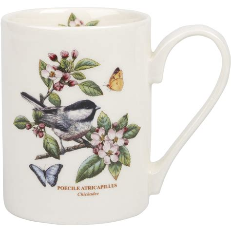Portmeirion Botanic Garden Coffee Mug Portmeirion Botanic Garden Coffee Mug Chickadee Louis Potts