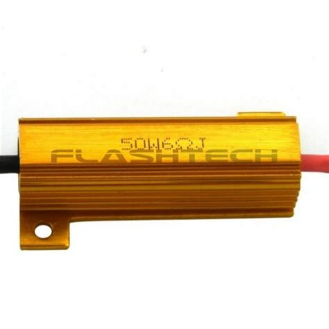 led resistor wattage 50 watt 8 ohm load resistor