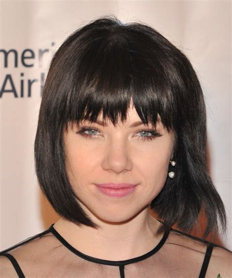 carly hairstyle carly rae jepsen medium straight casual bob hairstyle with