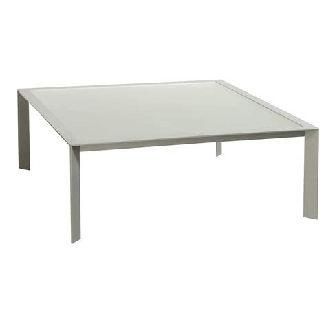 frosted glass coffee table used frosted glass top coffee table silver national