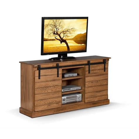 Design For Oak Tv Console Ideas Designs Sedona 62 Quot Tv Stand In Rustic Oak 3577ro