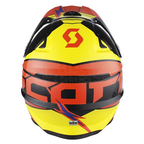 scott motocross helmet 2015 scott 350 pro podium helmet black orange