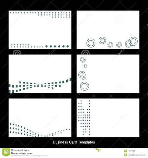 free business card templates free blank business card templates business card sle