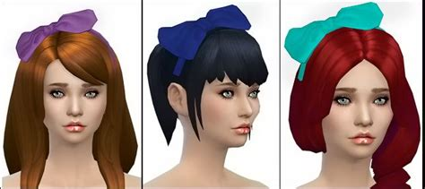 flowers bow headband at jenni sims 187 sims 4 updates les 389 meilleures images 224 propos de sims 4 custom
