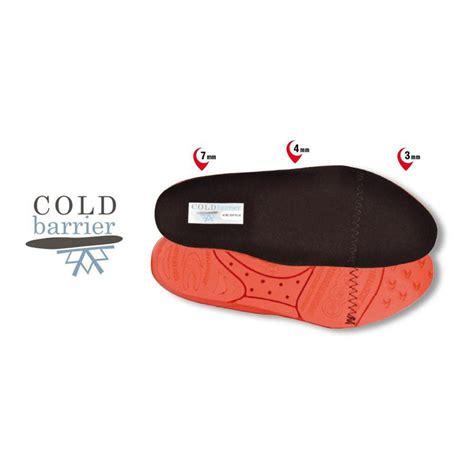 Piede Safety soletta plantare per scarpe cofra cold barrier contro il