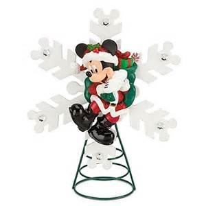 disney christmas tree topper santa mickey mouse