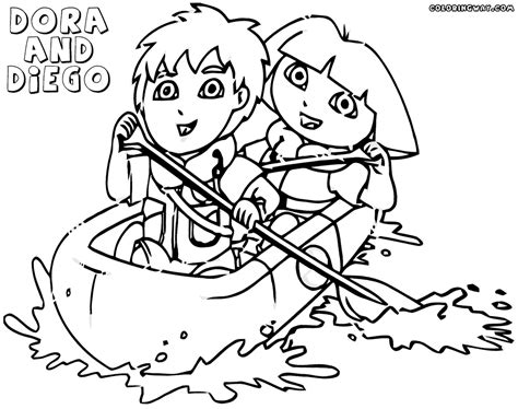 free coloring pages dora and diego 63 diego coloring pages top 10 free printable diego
