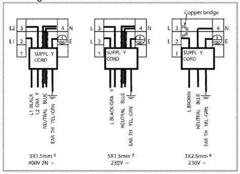 separate oven and hob wiring diagram wiring diagram