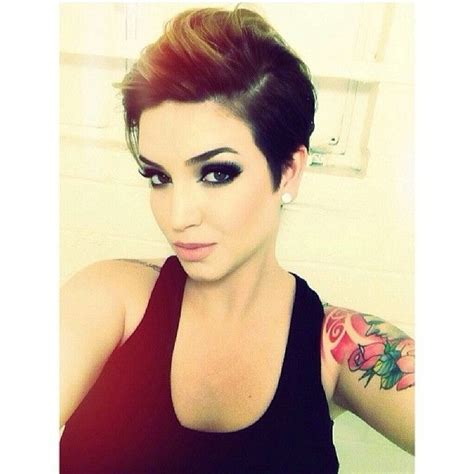 history on asymmetrical short haircut 25 best ideas about edgy pixie cuts on pinterest edgy
